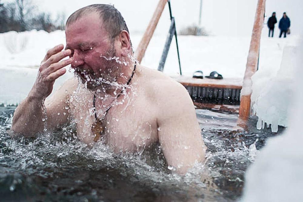 Картинки крещенское купание, картинки днем